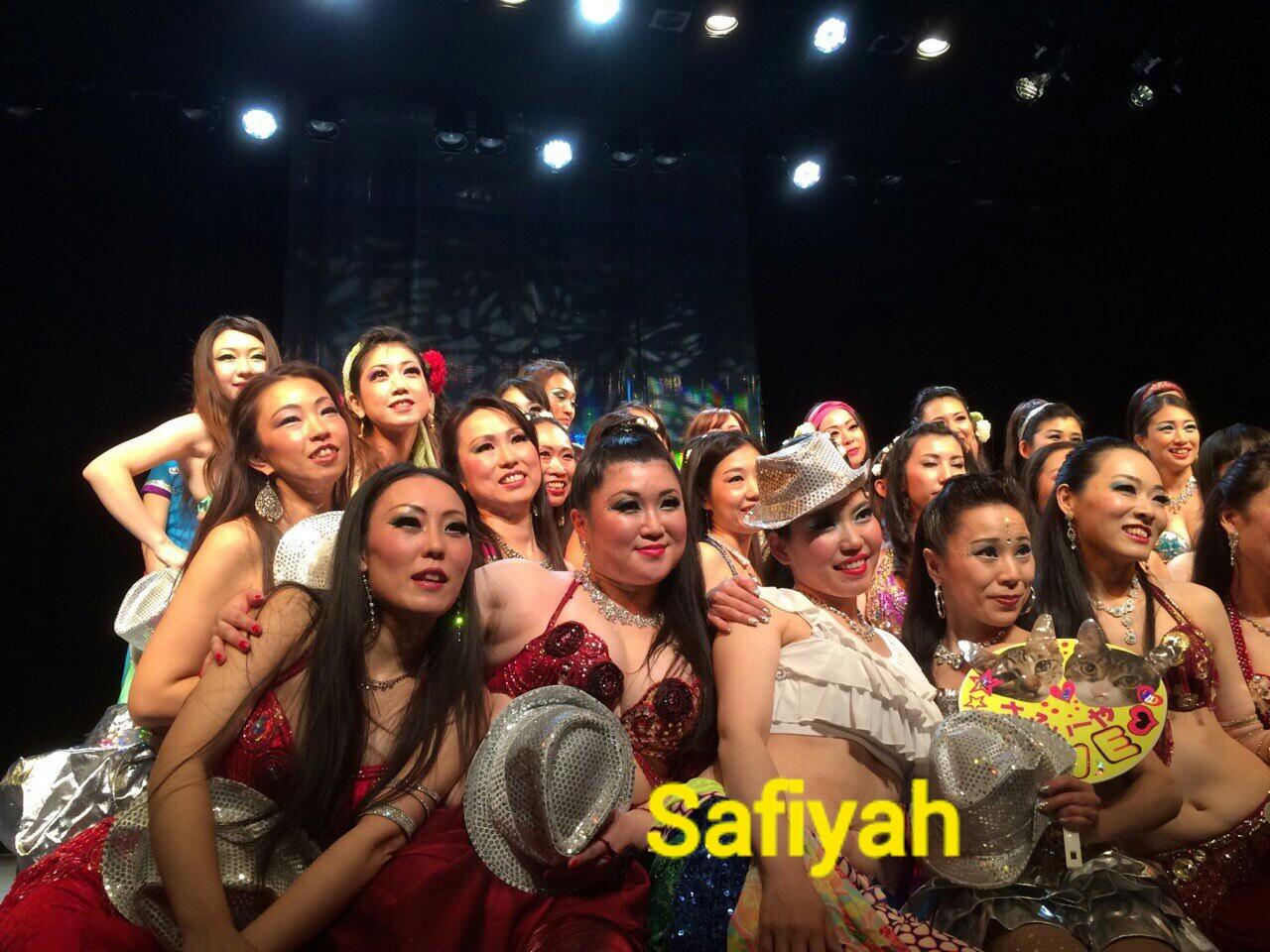 Safiyah発表会集合写真☆